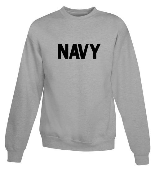 US Navy Sweatshirt - Teamlogo.com  77a8a153ec1