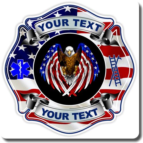 Fire Department Custom Decal