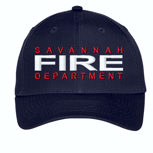 Fire Dept. Custom Embroidered Twill Cap