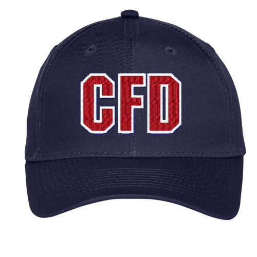 Fire Dept. Custom Embroidered Twill Letter Cap