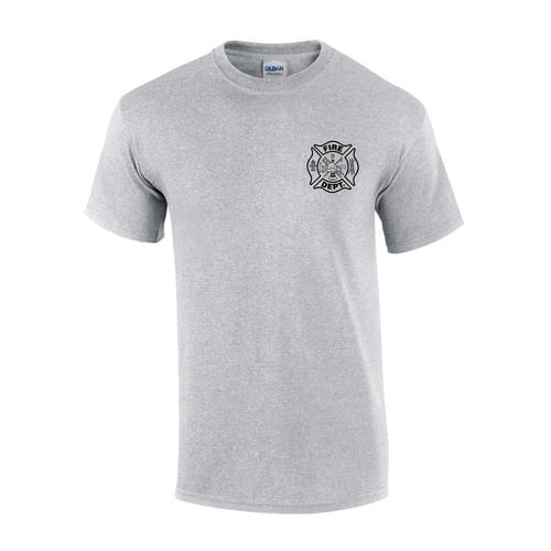 Custom Fire Department Flames T Shirt Teamlogo Com Custom