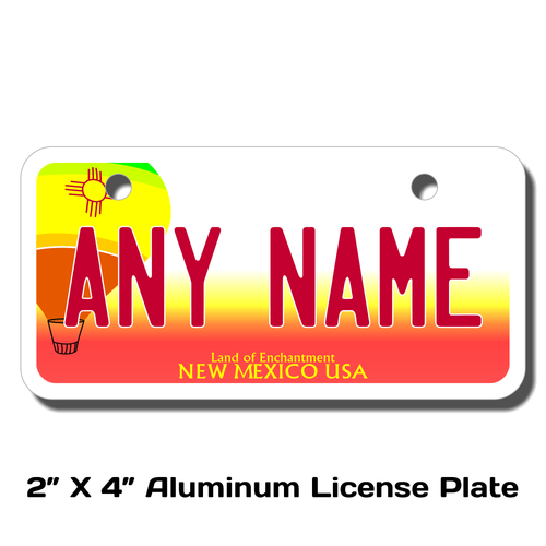 Personalized New Mexico 2