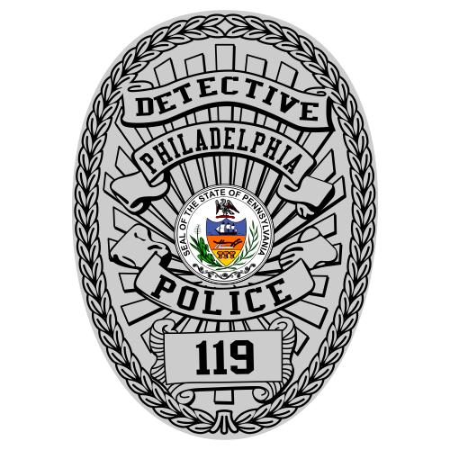 Custom Reflective Shield Badge Decal