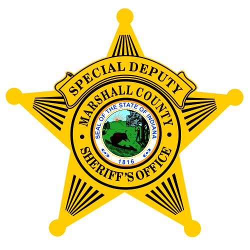 Custom Sheriff - Police 5 Point Badge Decal