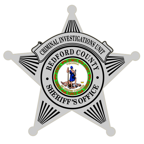 Custom Reflective 5 Point Star Badge Decal
