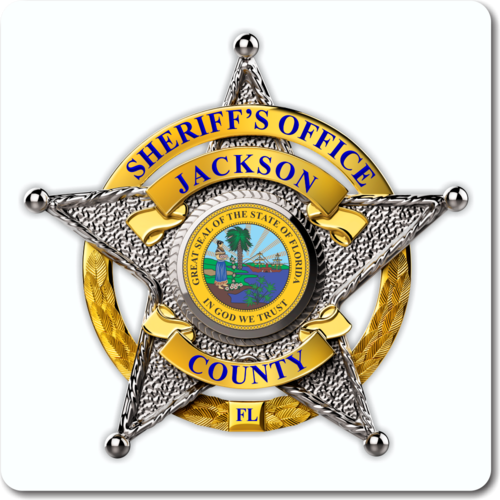 Custom Sheriff 5 point star Badge Vinyl Decal - Teamlogo com