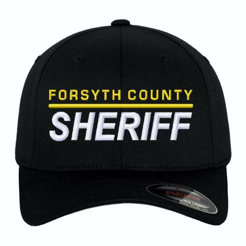 Law Enforcement Custom Embroidered Flexfit Duty Baseball Cap