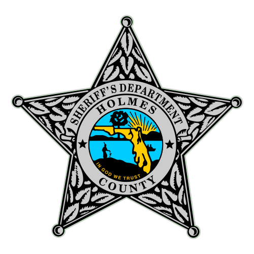 Custom Reflective Sheriff 5 Point Badge Decal