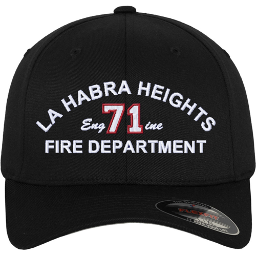 Fire Dept Custom Embroidered Flexfit Cap