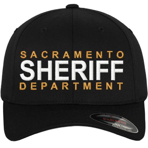 9dd9b5c1237 Sheriff Custom Embroidered Flexfit Duty Baseball Cap - Teamlogo.com ...