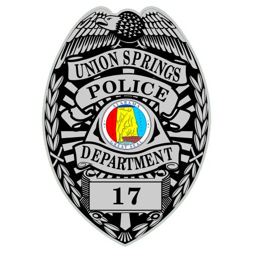 Custom Police Shield Badge Decal