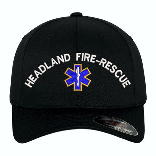 Custom Embroidered Star of Life Flexfit Cap