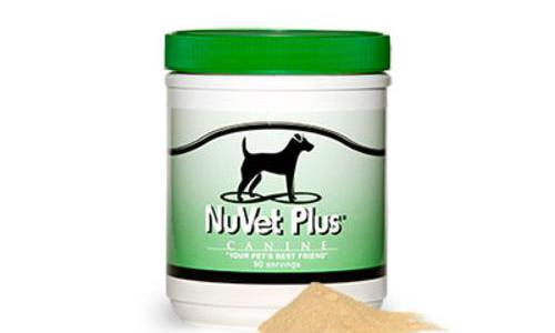 NuVet Plus Powder Vitamin