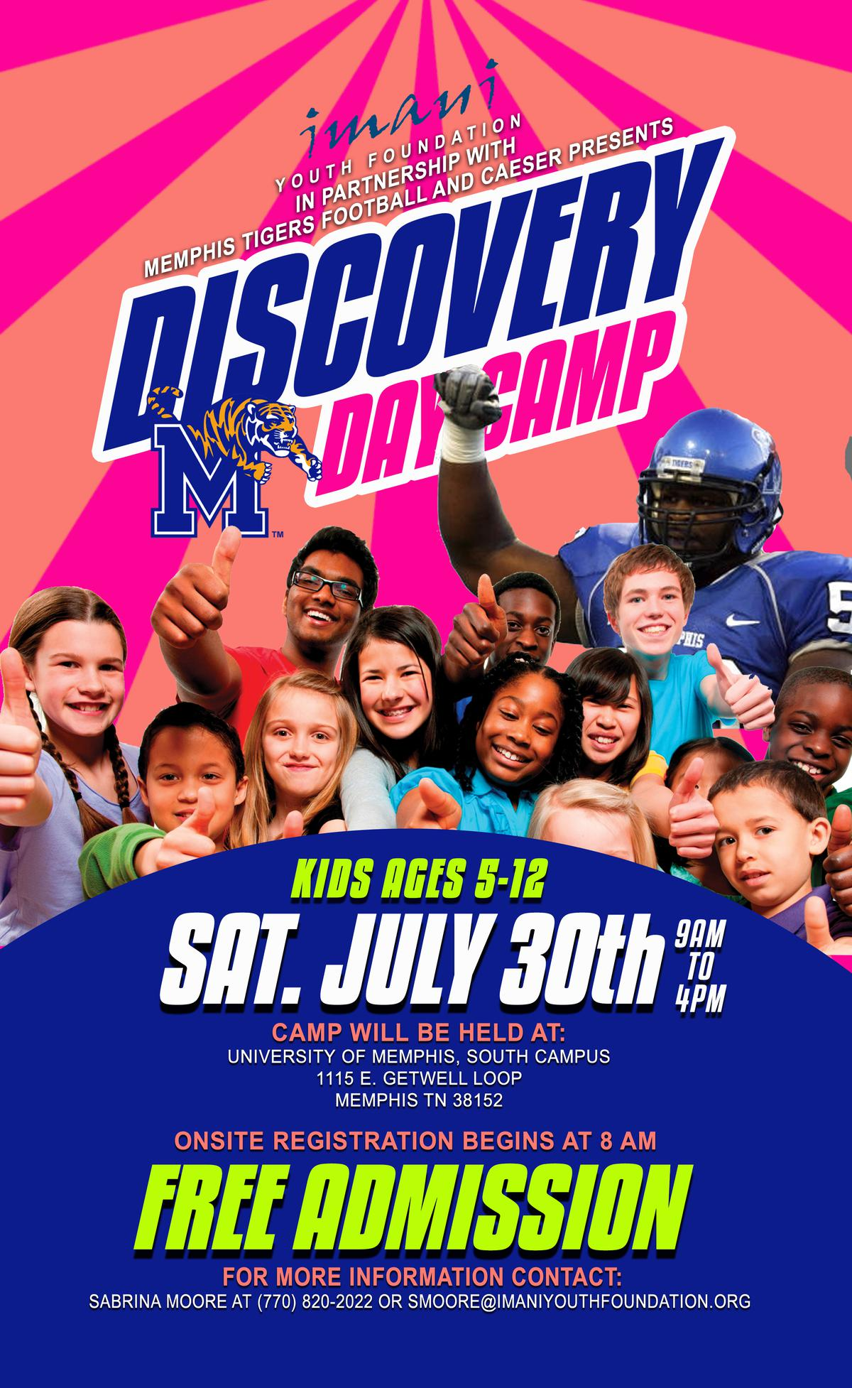 Discovery Day Camp - Memphis