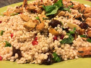 Tu B'Shevat Special - Seven Species Couscous Salad