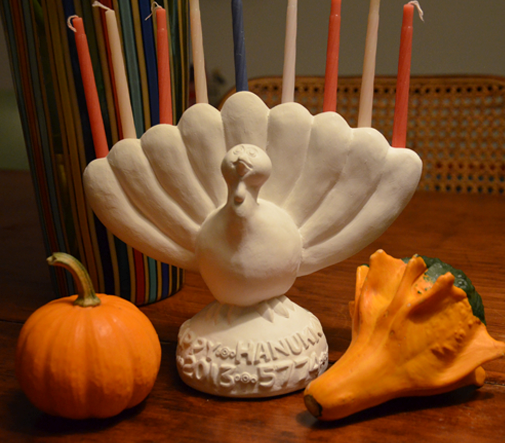Haven't Heard of Thanksgivukkah? Are you on Mars?