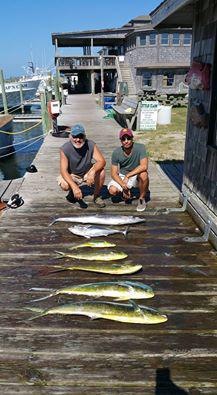 Outer Banks Fishing Report for 8/15/2016