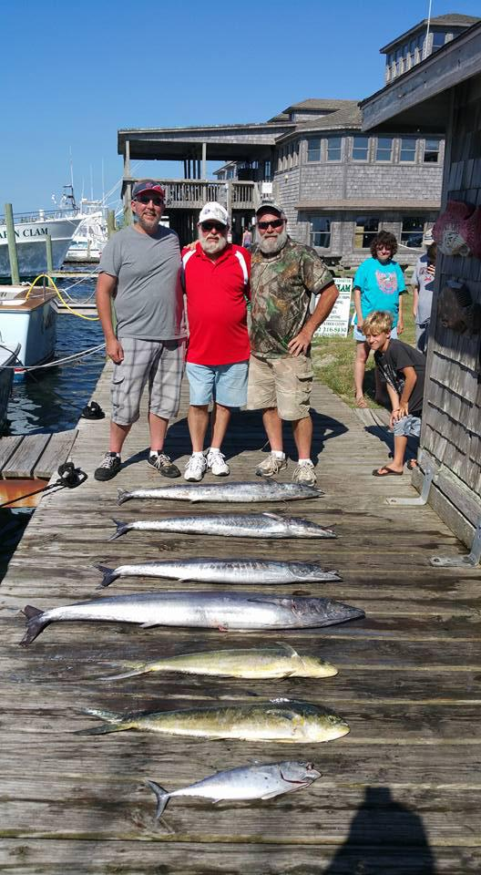 Outer Banks Fishing Report for 8/22/2016