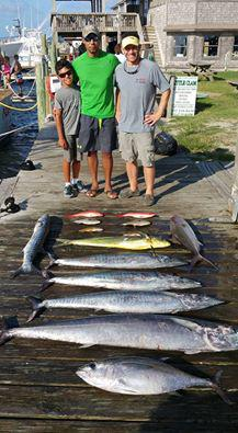 Outer Banks Fishing Report for 8/3/2016