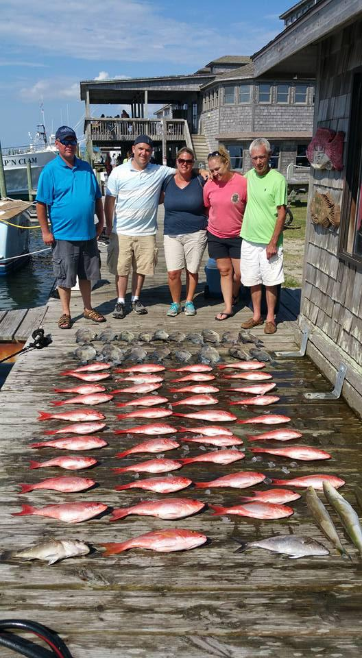 Outer Banks Fishing Report for 7/12/2016