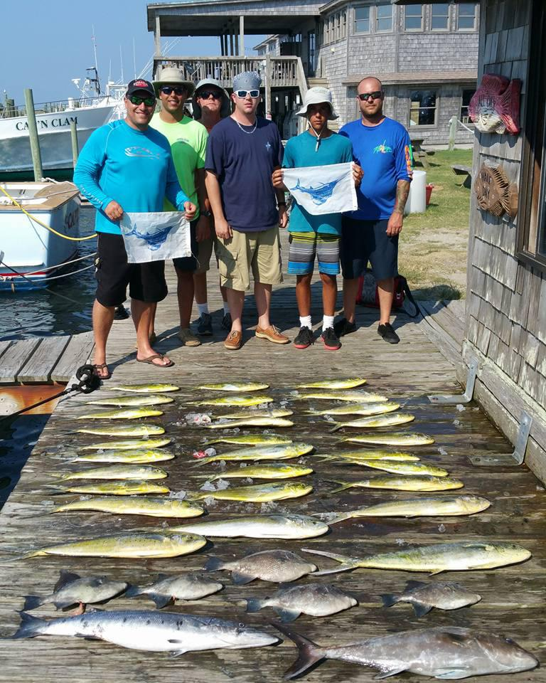 Outer Banks Fishing Report for 7/27/2016