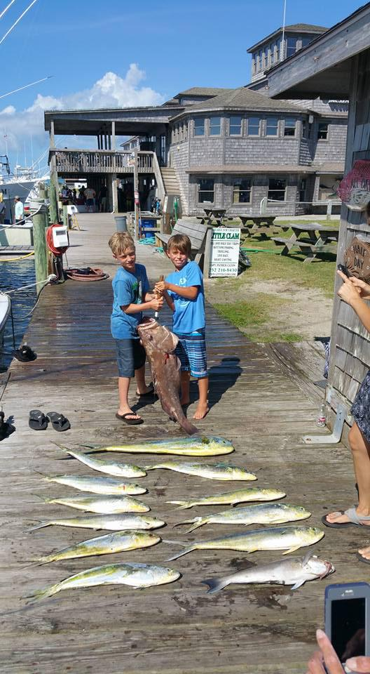 Outer Banks Fishing Report for 6/27/2016