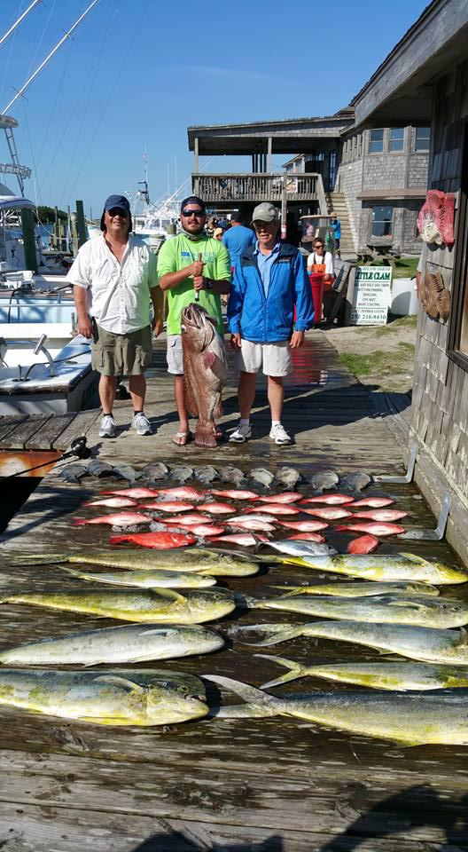 Outer Banks Fishing Report for 6/9/2016