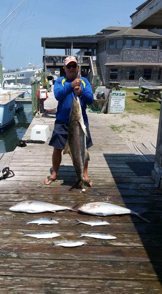 Outer Banks Fishing Report for 5/25/2016