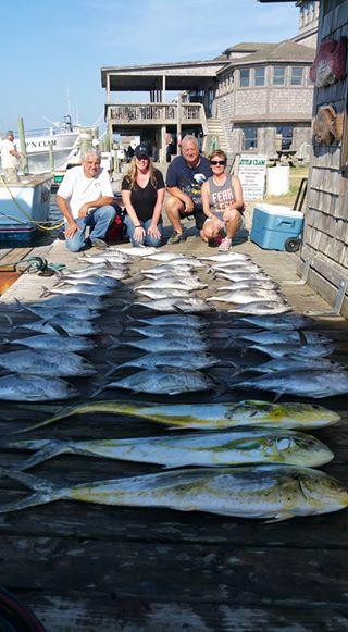 Outer Banks Fishing Report for 9/15/2016
