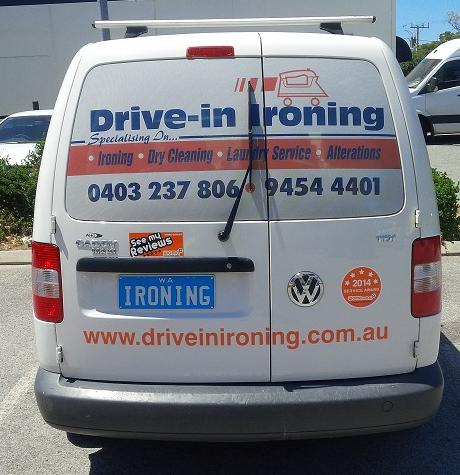 Drive-in ironing Review Challenge