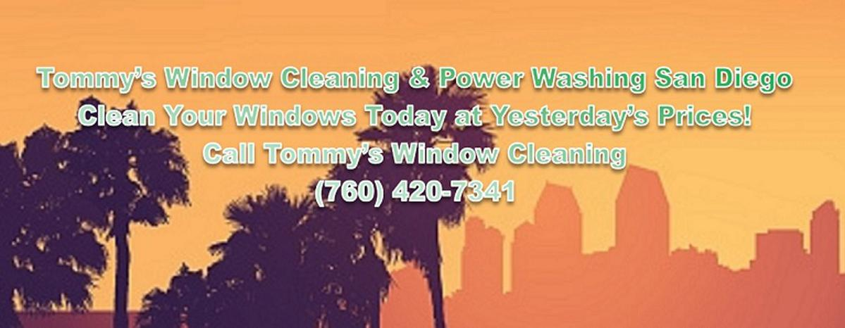 Window cleaning san diego & Carlsbad