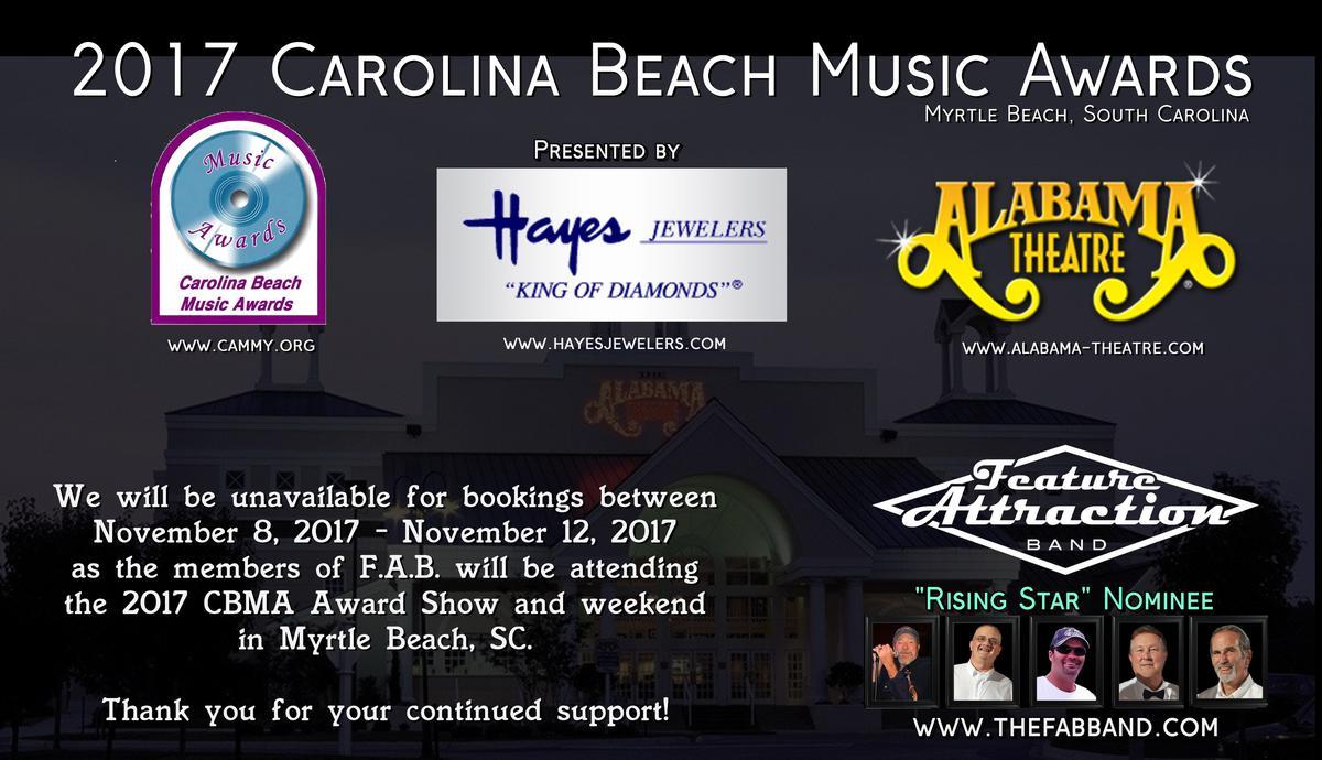 CBMA Awards Show Information