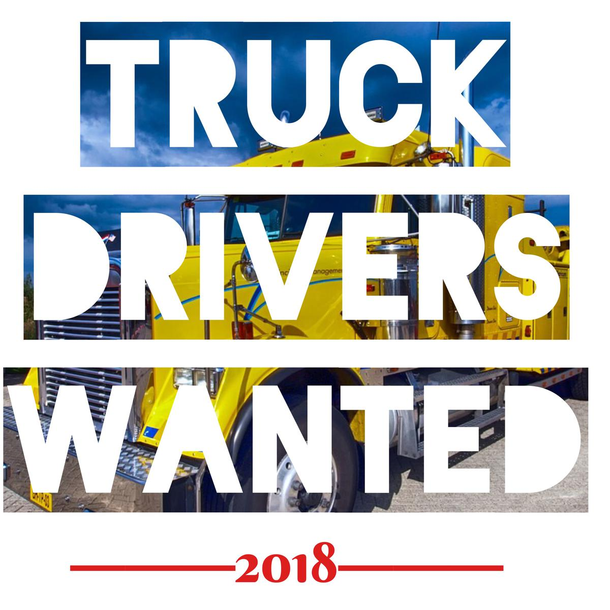 America needs more truck drivers