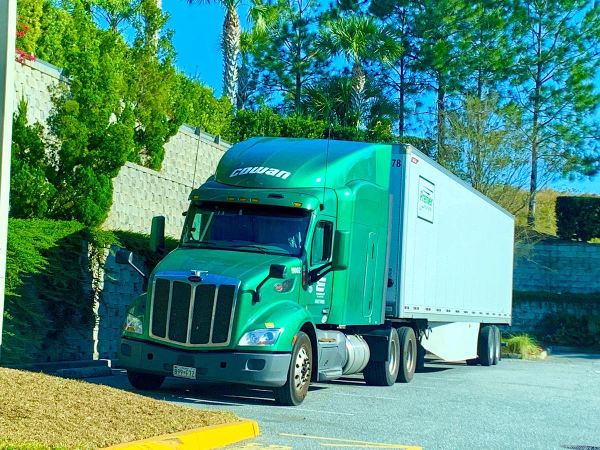 Is Covid-19 Leading to Better Pay for Big Rig Drivers?