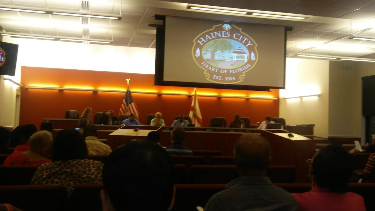 EEC Solutions CEO Recently Attended the Haines City Commission Meeting