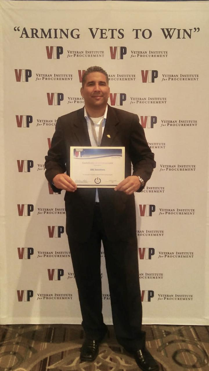 EEC Solutions Receives Veteran Institute For Procurement START Certification