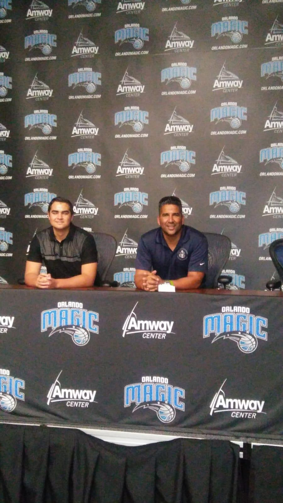 Not all is work: EEC Solutions Visited the Orlando Magic NBA Team