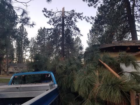 Storm Damage Repair - Roofing Repair - This Spokane Construction Company has hit the Road to Repair!