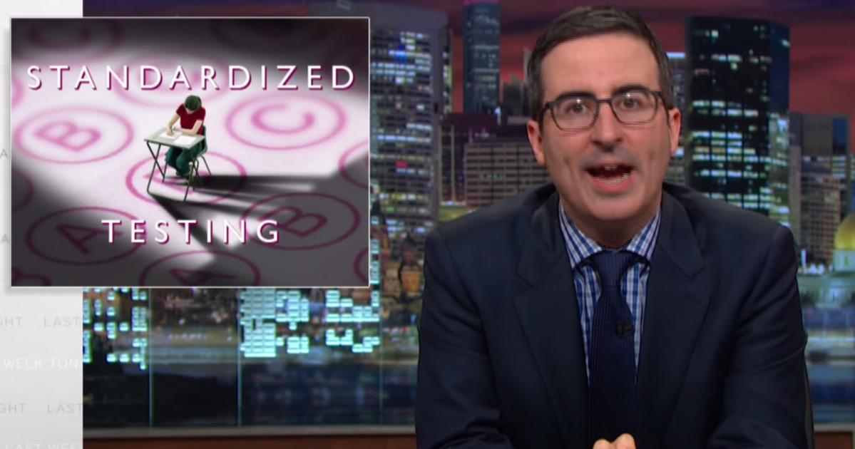 John Oliver Cites Seattle High School While Taking On Standardized Testing