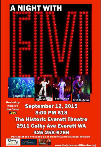 Elvis Tribute Concert / Charity Event