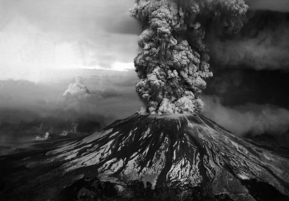 Mount St Helens Eruption -35 Years ago today