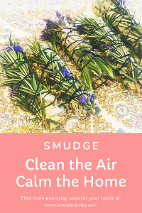 Smudging  to Clean the Air &  Calm the House