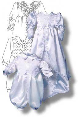 Making Your Baby Look Angelic in His/Her's Christening Gown