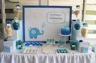 Decoration and Finishing Touches For Your Christening Reception