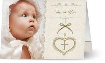 Choosing And Writing A Christening/Baptism Thank You Card
