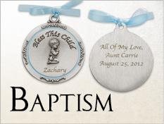Great Christening and Baptism Keepsake Ideas