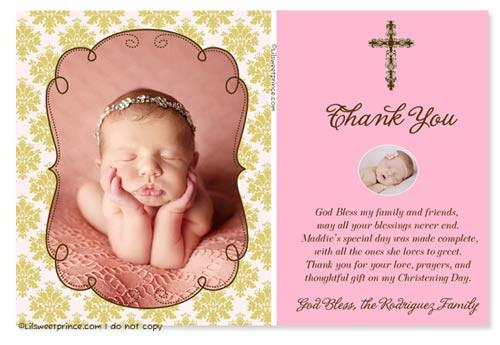 Essential Tips for Choosing And Writing A Baptism Thank You Card