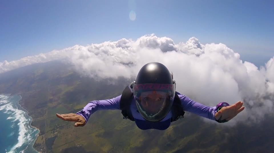 ADVENTURES IN SKYDIVING - GREAT LOVE = GREAT FEAR