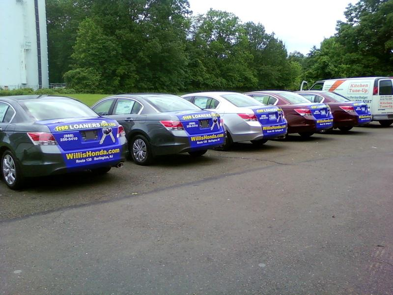 Fleet Wraps in Philadelphia, Pennsylvania and New Jersey