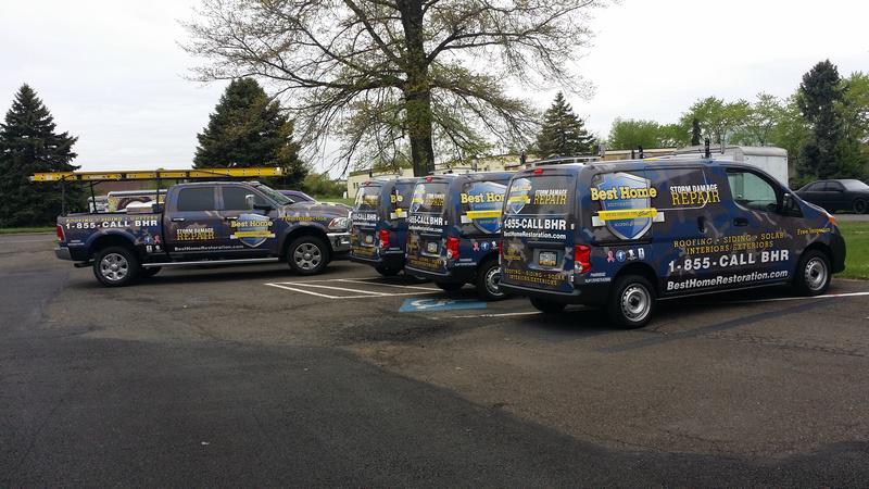 Fleet Vehicle Wraps with Financing